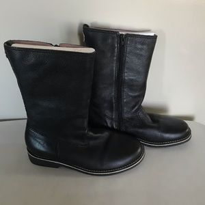 Gap | Black Zip Up Mid Calf Boots, 5